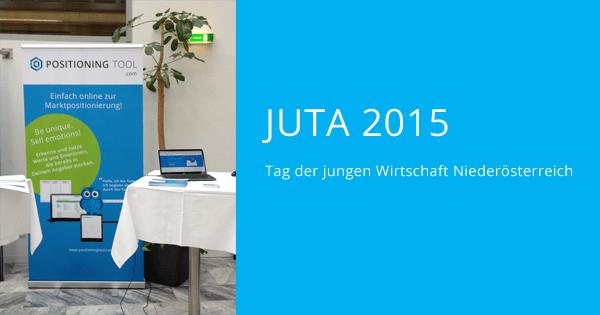 Das POSITIONING TOOL präsentiert sich bei der JUTA 2015