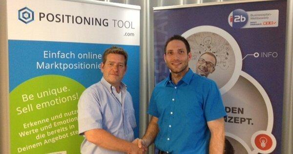 Das POSITIONING TOOL für Österreichs Startup Elite bei i2b, ideas to business