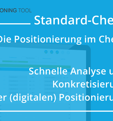 Online Positionierung Check für die Marketingstrategie
