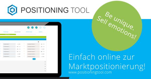 Marktpositionierung einfach online analysieren und entwickeln -